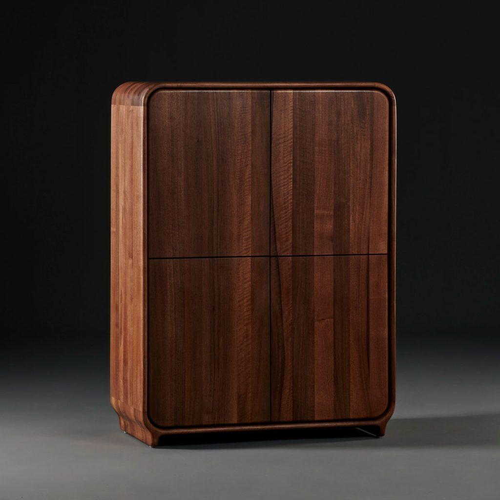 Archivador Eny de Arteco, realizado artesanalmente en madera con toques modernos para Artisan
