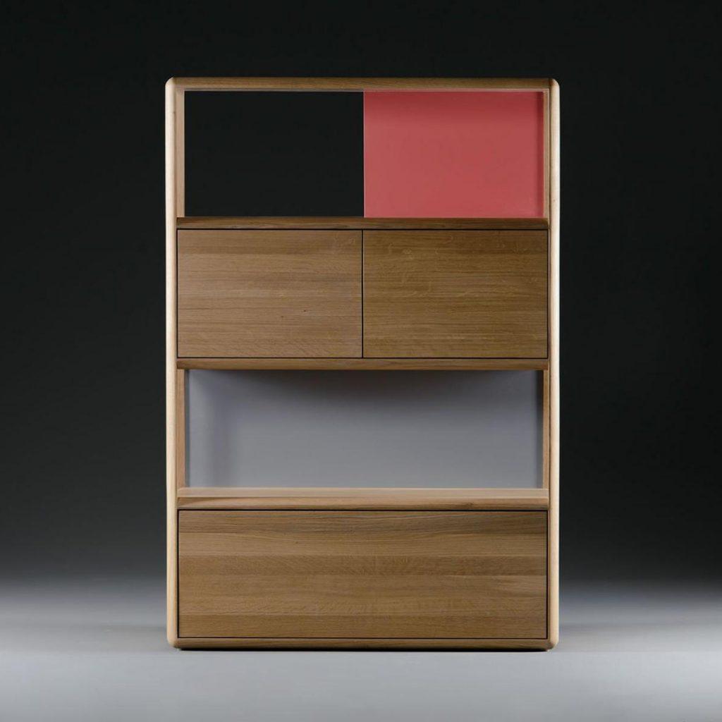 Estantería Alea para Artisan, diseño vanguardista en Europa con acabados elegantes