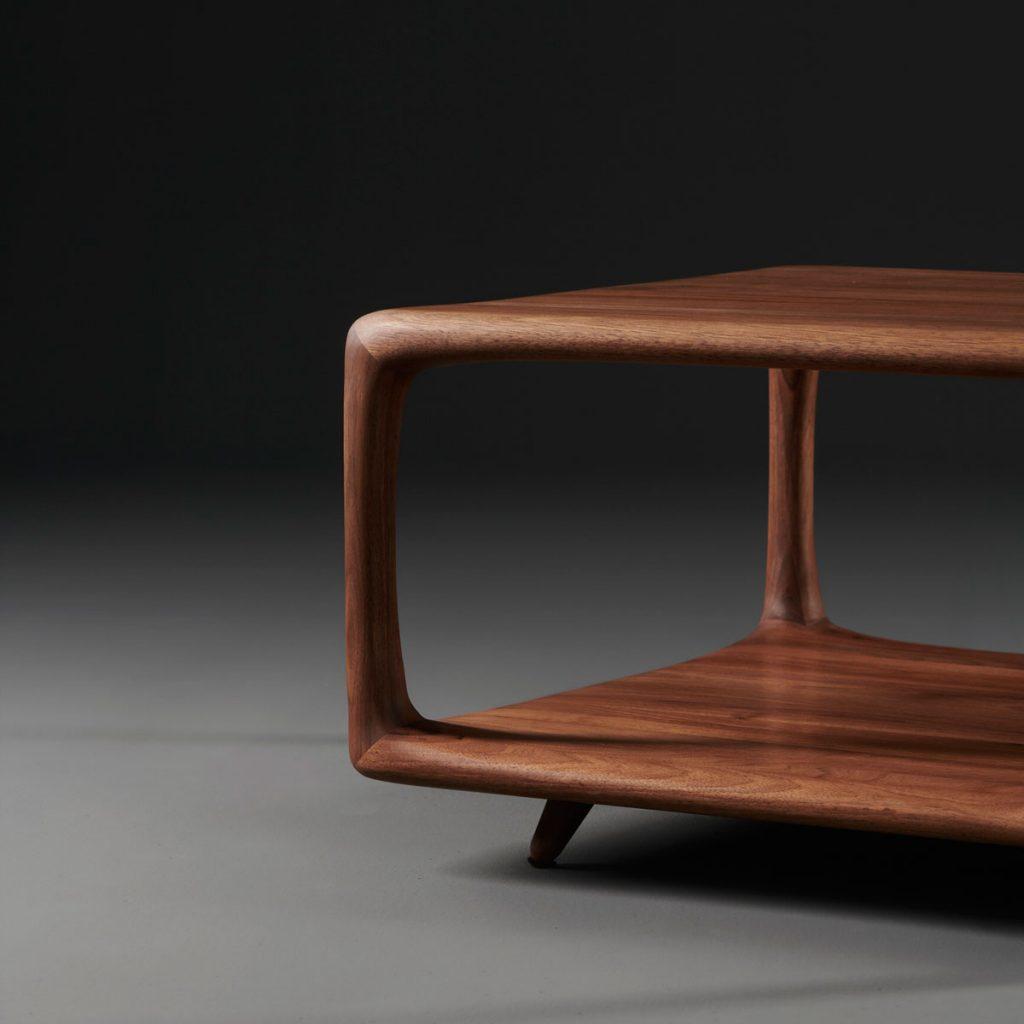 Mesa de centro Blend de Mirko Miličić, con diseño único en Europa para Artisan, moderno y actual