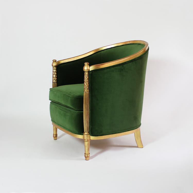 Pareja sillones. Francia, años 40