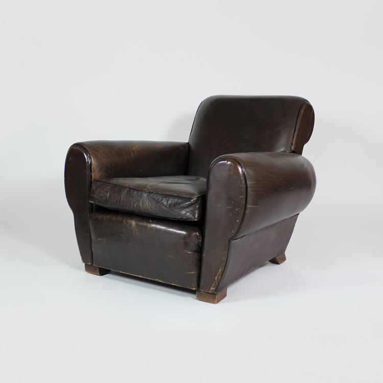 Pareja de sillones años 40