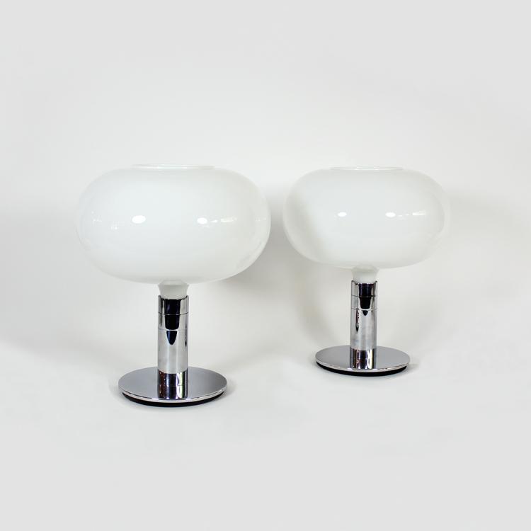 Pareja de lámparas de Franco Albini