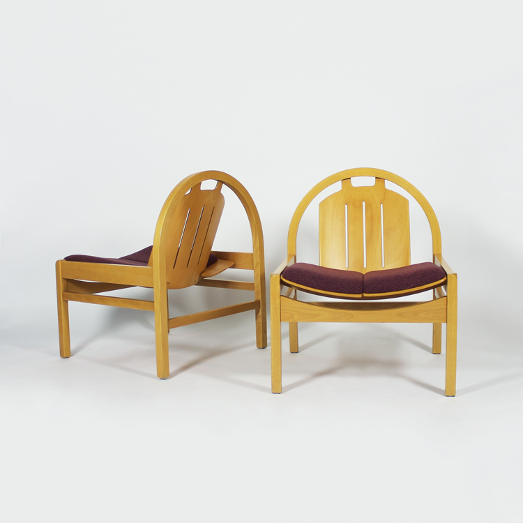 Pareja de sillones Baumann, hacia 1970